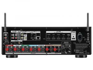 Denon AVR-S750H dietro
